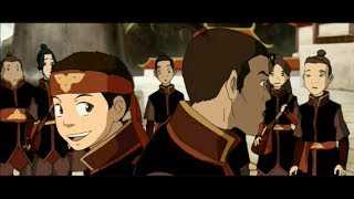 Aang VS Hide: Full Scene [HD]