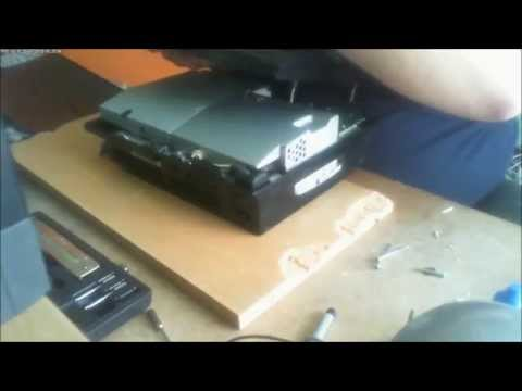 Playstation 3 - Overheat Repair - RLOD - Flashing Red Light