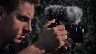 My microphone solution for the Sony A6000 [ECM-GZ1M Gun Zoom Microphone]