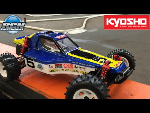 Kyosho Optima 2016 Re-Release 4wd Buggy - Running Video!