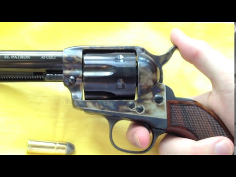 Choosing a Uberti Single Action/El Patron Review