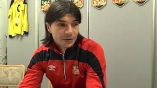 Dragan Pejicin haastattelu