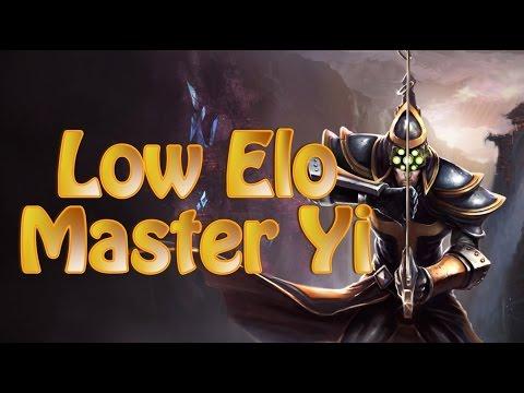 League of Legends Low Elo Master Yi