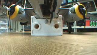 Top Flite B-25 Sequencing Gear Door Modification Demo