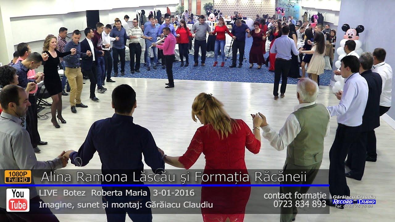 Alina Ramona Lăscău si Formatia Racaneii Colaj HORA LIVE part.2 Botez Roberta Maria 3-01-2016