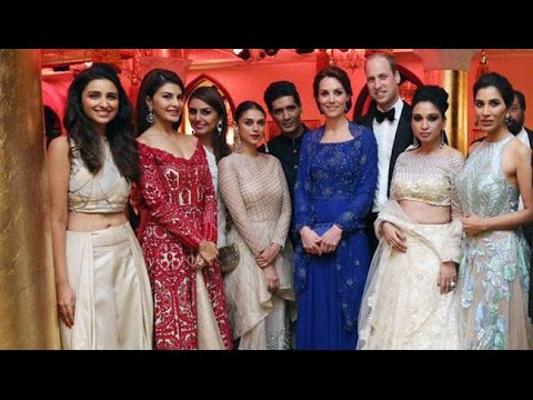 Royal Dinner Party For Kate Middleton & Prince William |Sachin Tendulkar, SRK, Aishwarya Rai & More