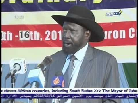 National Conference of SPLA Board - President's Salva Kiir Speech