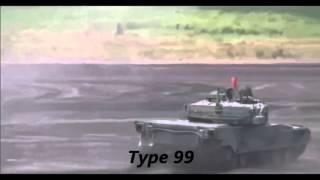 Type 99 (ZTZ-99) — современный китайский основной боевой танк