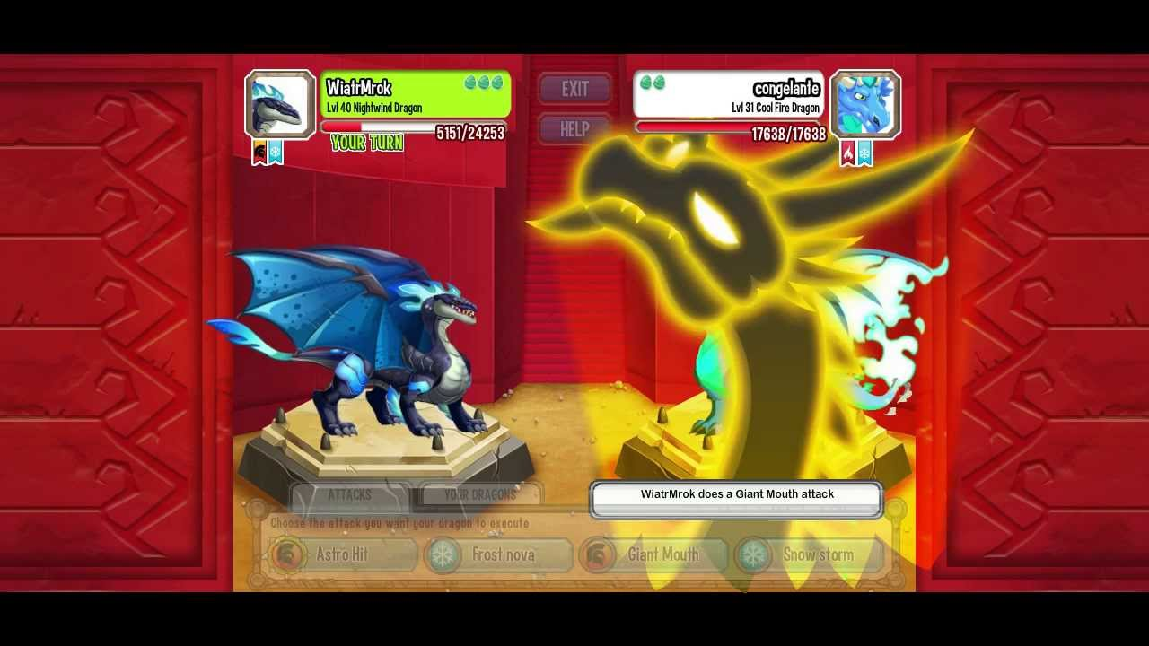 Dragon city: nightwind, photon and cold star dragons - YouTube