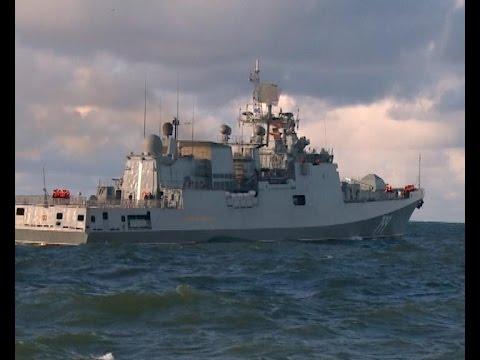 Новейший фрегат «Адмирал Макаров» завершает государственные испытания