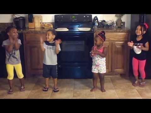 Kids Doing The cupid Shuffle video
