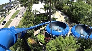 The Storm Water Slide at Wet