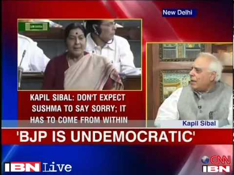 We don't expect Sushma to apologise for remarks