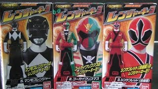đồ chơi siêu nhân hải tặc Power Rangers Super Megaforce Toys 파워레인저 캡틴포스 레전드 레인저키 장난감