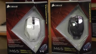 Corsair M65 FPS Gaming Mouse Unboxing & First Look