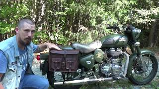 Royal Enfield Classic 500 Saddle bags