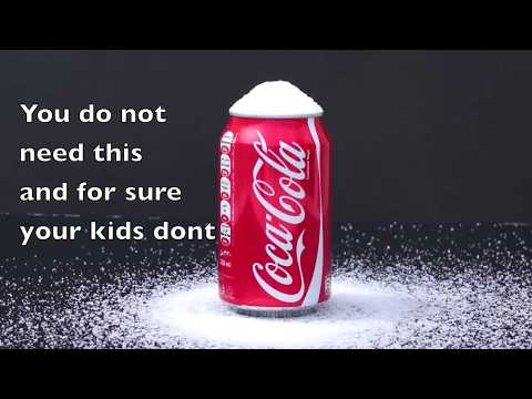 Soda Drinks: You & Children - Cola Pop Fizzy Sugar Drinks. PARENTS MUST SEE