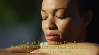 All Cried Out Allure with lyrics