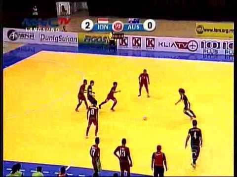 AFF Futsal 2014 INDONESIA VS AUSTRALIA 1st 3 0 FULL