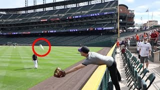 INSANE home run catch at Coors Field