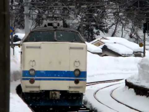 419系普通電車・今庄駅発車The series 419 local train / Imajo Station departure