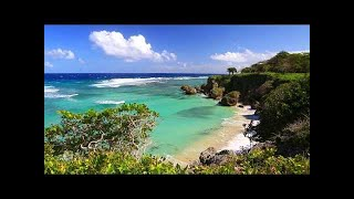 10 Minute Break from Work or Study Relaxing Music with Beach Scenery