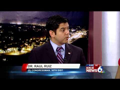 Raul Ruiz Congressman Congressman Raul Ruiz Wakes up
