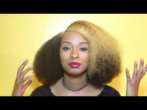 How to Create a Blowout Without Heat For Natural Hair (Using The Banding Method)