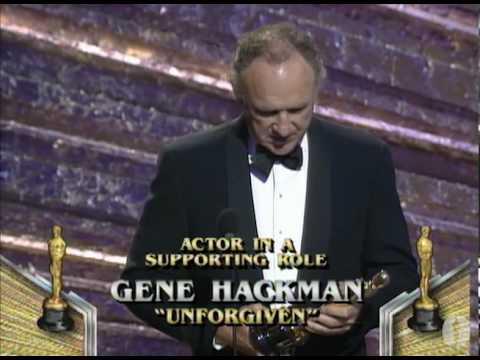 Gene Hackman winning Best Supporting Actor