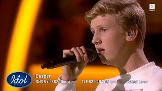 Casper imponerer med Rewrite the Stars fra The Greatest Showman | Idol Norge 2018