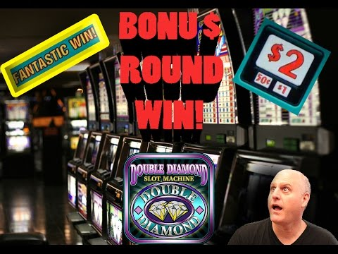 Fantastic Bonus Round Win On Double Diamond!