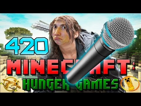 Minecraft: Hunger Games w Mitch Game 420 WORST MICROPHONE EVER
