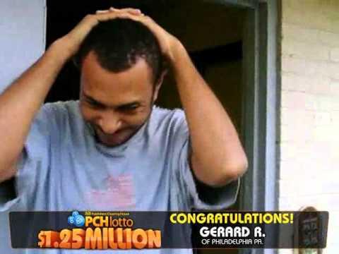 PCHLotto $1.25 Million Winner Gerard Rivera