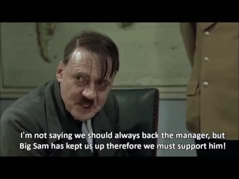 Hitler reacts to Sam Allardyce sack rumours