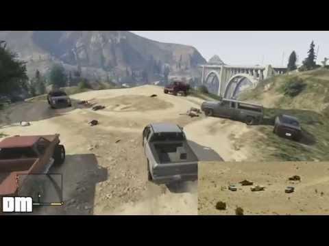 GTA V - No Country For Old Men Easter Egg