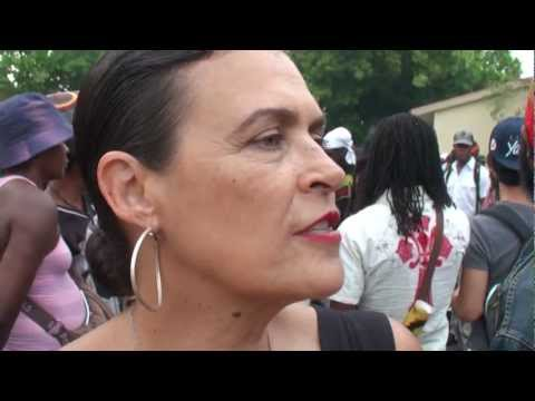 Cutty interviews Cindy Breakspeare at Bob Marley Day 2012