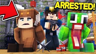 UNSPEAKABLE & MOOSE GET ARRESTED...