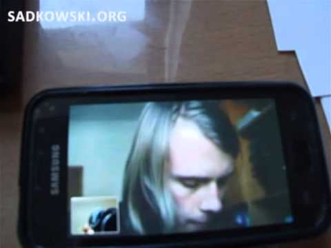 Skype Video Calling Android on Samsung Galaxy S
