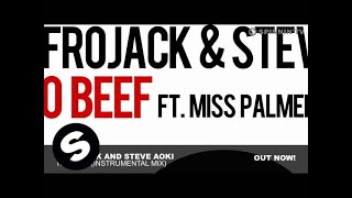 Afrojack And Steve Aoki - No Beef (Instrumental Mix)