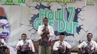 HAUL 7 GUS DUR , BEDAH BUKU ISLAM NUSANTARA DAN ATLAS WALI SONGO DI UNIRA MALANG