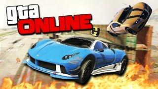 GTA 5 Online (Гонки + УГАР) - Невероятные рампы! #104