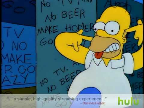 The Simpsons - No Tv and No Beer Video