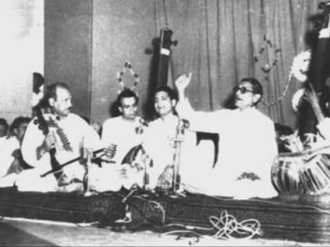 Raag Malkauns - Tarana - Ustad Vilayat Hussain Khan