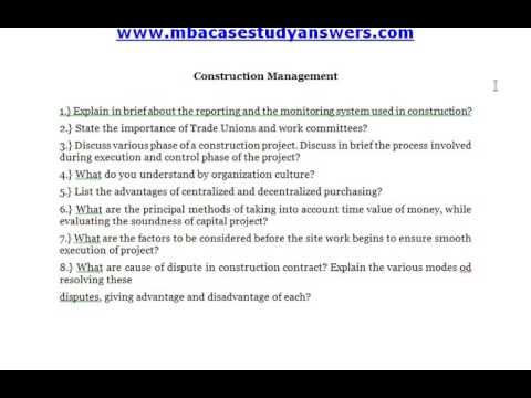 Construction Management - What do you understand by organization culture?