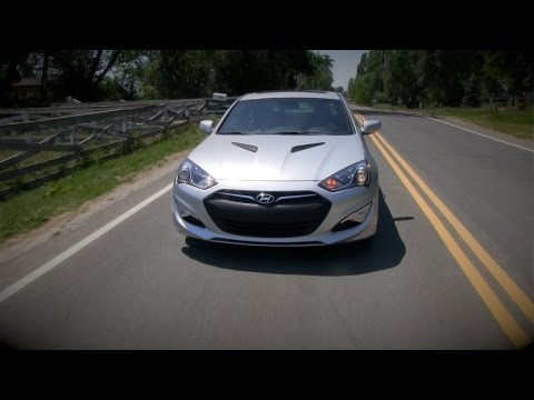 2013 Hyundai Genesis Coupe Drive and Review
