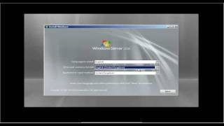 How to install Microsot Windows Server 2008 in less than 10 minutes.avi