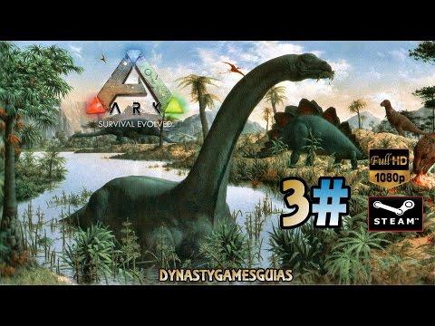 ARK: Survival Evolved Día 3# Nuestras queridas mascotas los dinosaurios-DIRECTO Español 1080p HD