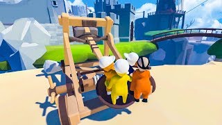 CATAPULTING OURSELVES! - HUMAN FALL FLAT
