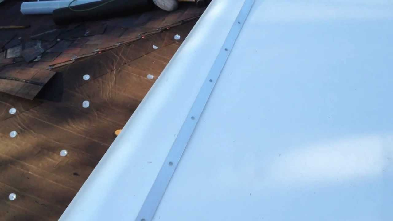How To Install A Termination Bar On A Rubber Tpo Roof