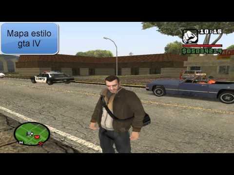 Parkour Cleo Mod para Gta San Andreas Loquendo Regalo para subscriptores